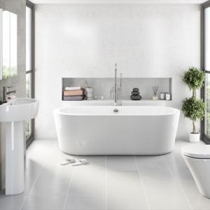 Bagno grigio: scelta sempre più diffusa che regala un'eleganza irresistibile
