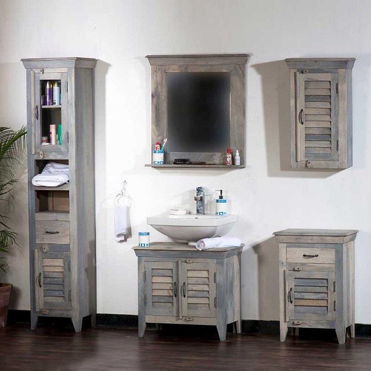 Bagno vintage ritorno al passato attraverso mobili dal design retr - Arredo bagno vintage ...