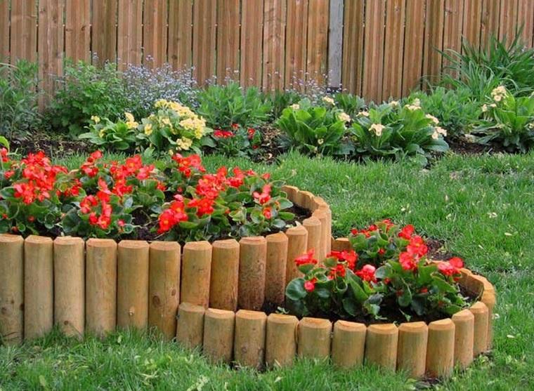 Pietre Da Giardino Per Aiuole : Bordure per aiuole in pietra e legno ecco le soluzioni più