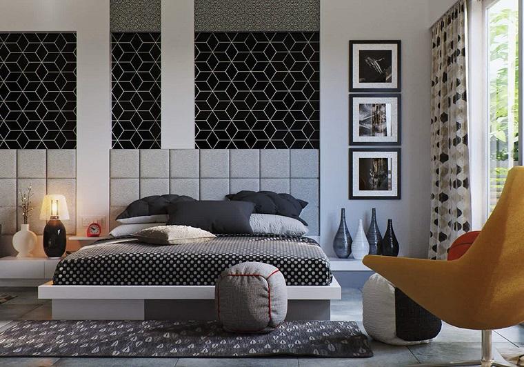 camera-da-letto-arredamento-moderno-colore-grigio Colori camera da letto  10  sfumature di grigio per la zona più intima ... 25383d440519