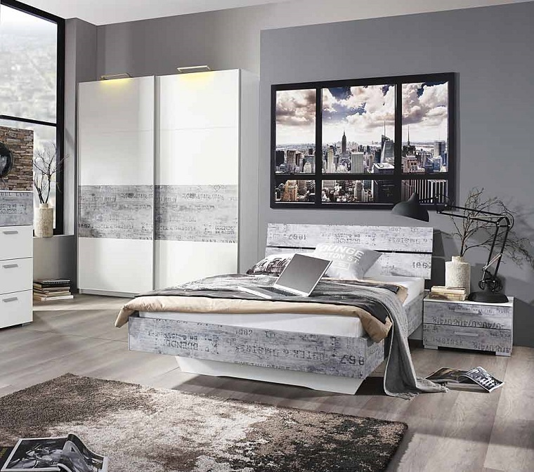 colori camera da letto 10 sfumature di grigio per la zona pi intima. Black Bedroom Furniture Sets. Home Design Ideas