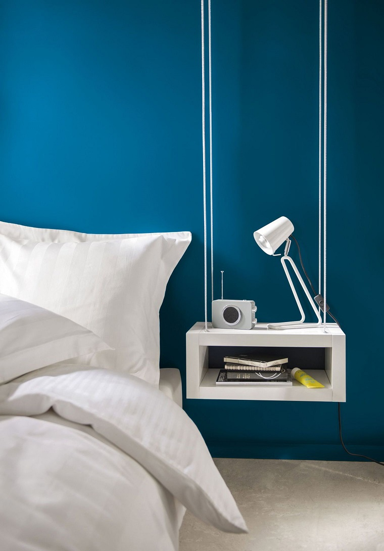 Camera da letto blu le tonalit pi belle per la zona - Camera da letto pianca ...