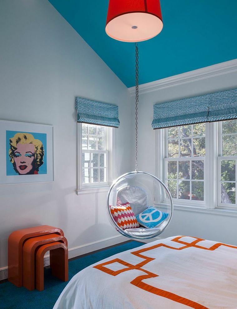 Camera da letto blu le tonalit pi belle per la zona for Camere da letto bianche