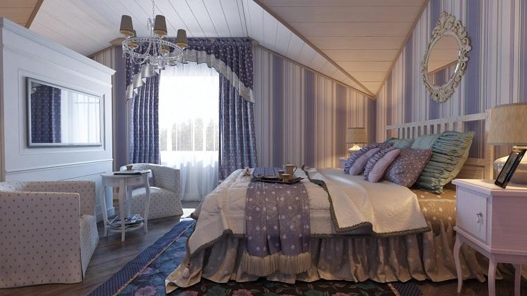 camera da letto provenzale-toni-blu