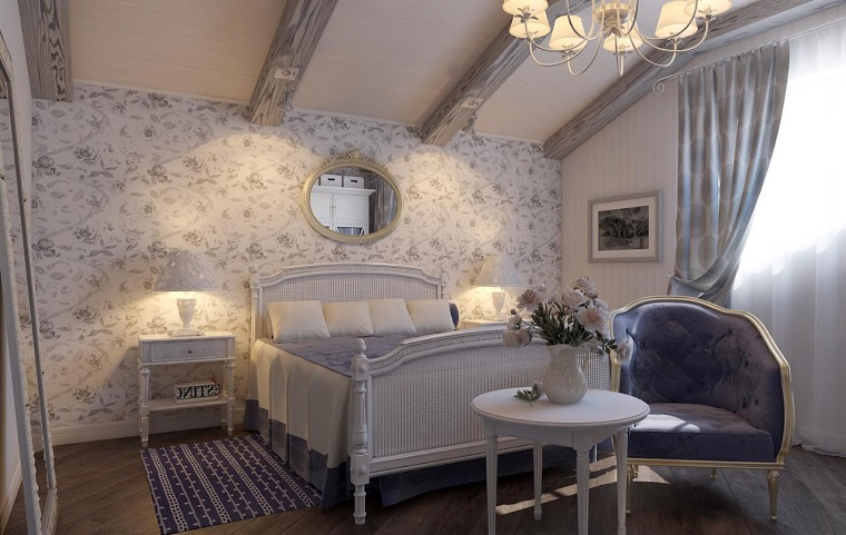 camera-da-letto-provenzali-carta-parati-fiori