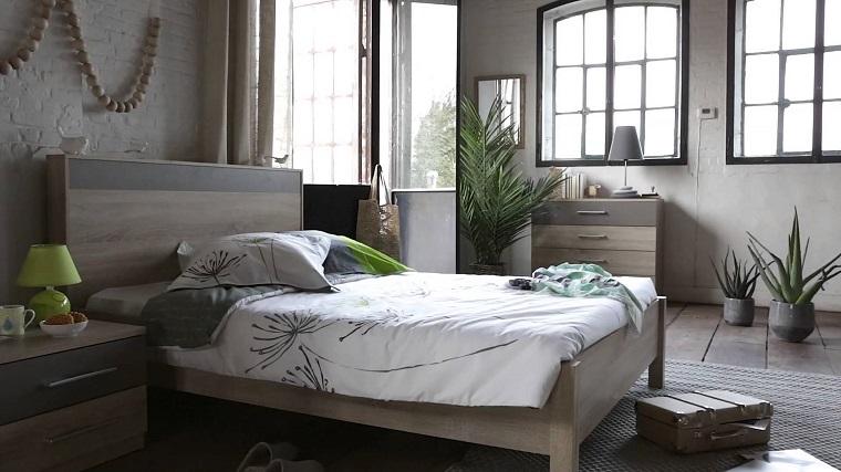 camera-da-letto-stile-provenzale-toni-grigio