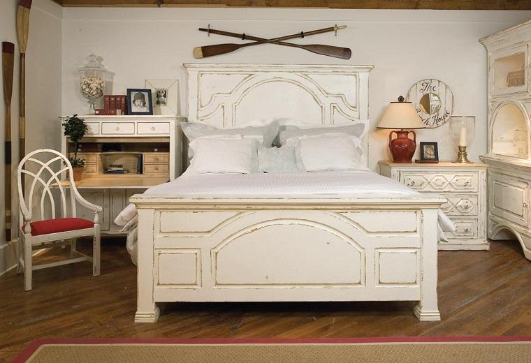 Camere da letto country idee e consigli sull 39 arredamento - Arredamento country camera da letto ...