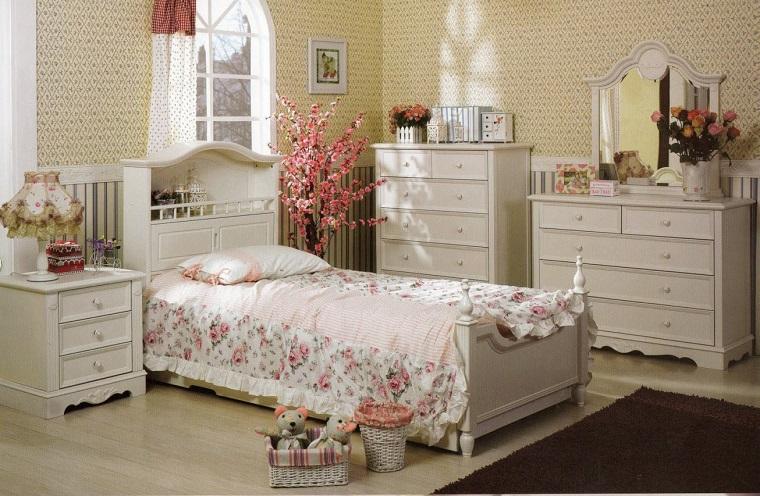 camere-da-letto-country-mobili-colore-bianco