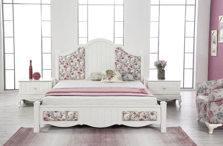 camere da letto country-mobili-colore-bianco