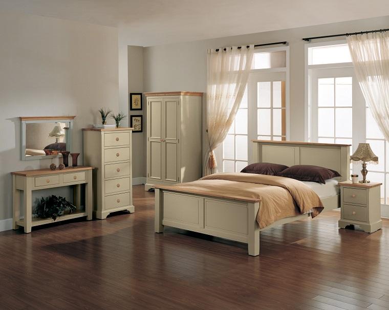 camere-da-letto-country-pavimento-legno