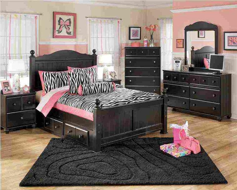 camerette-per-ragazze-mobili-scuri