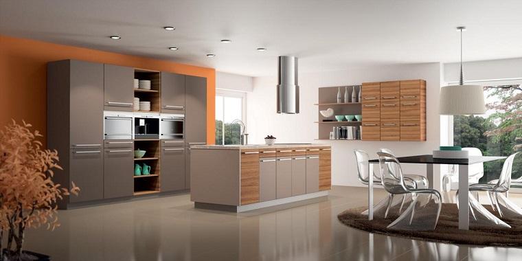 Pareti tortora una cornice chic per tutti gli ambienti della casa - Pareti cucina color tortora ...