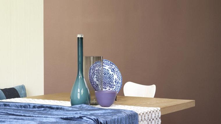 color-tortora-pareti-zona-pranzo