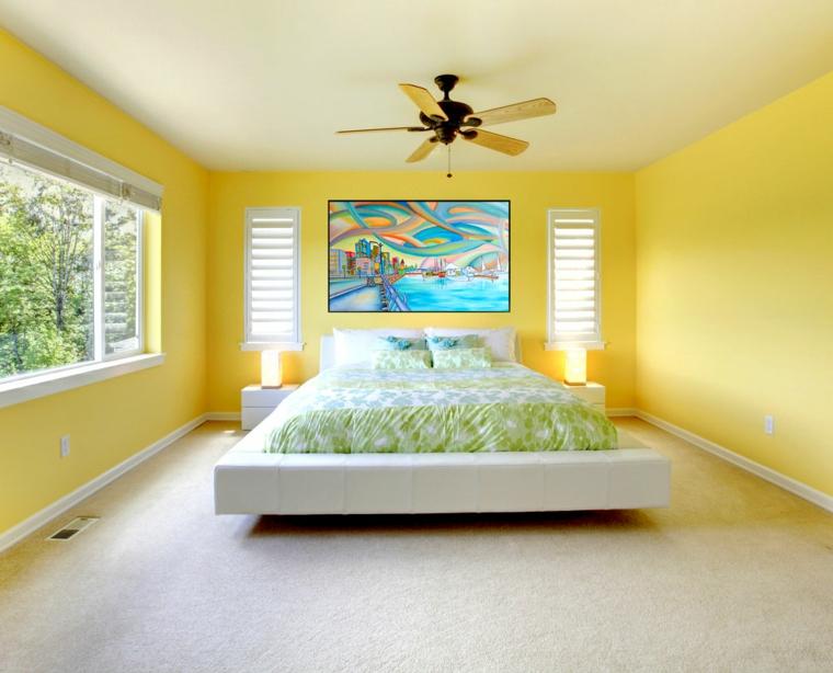 colore pareti camera da letto-feng-shui-giallo