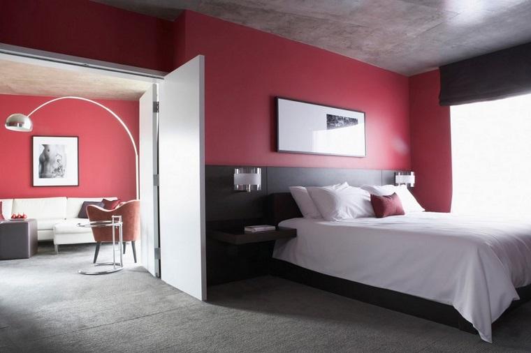 Pareti Camera Da Letto Rossa : Pareti colorate camera da letto ad ogni colore uno stato d animo
