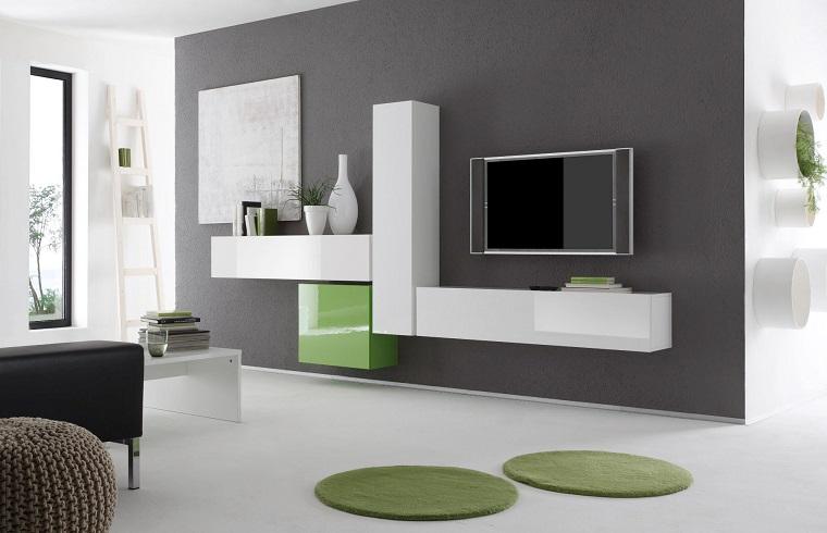 Colori Per Pareti Soggiorno Grigio : Colore pareti soggiorno idee di tendenza per un look moderno