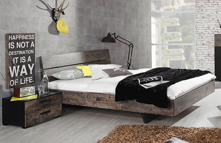 colori camera da letto-grigio-design-industriale