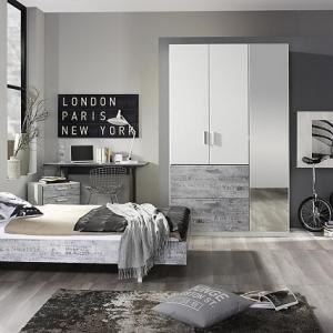 Camera da letto grigia ideale per chi ama lo stile - Colori camera da letto 2017 ...