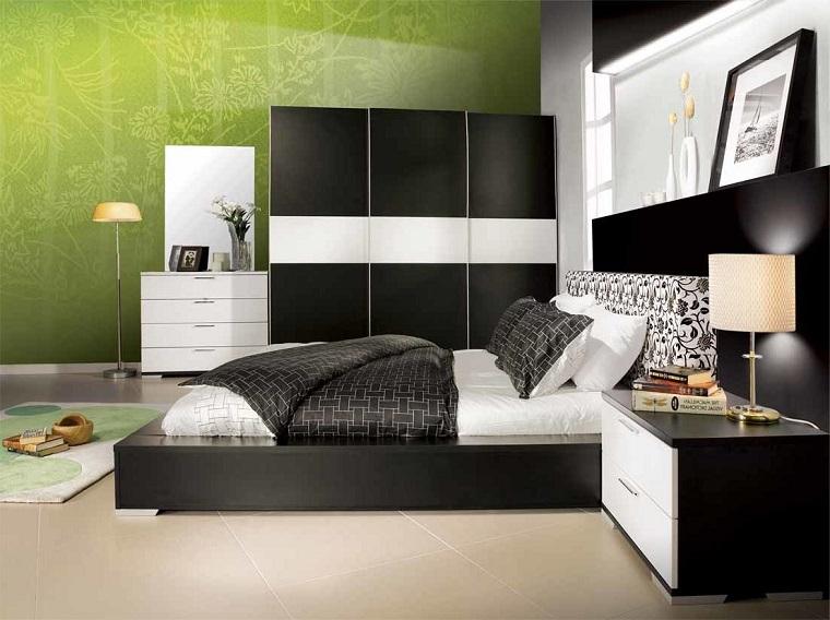 colori-parete-camera-da-letto-verdi
