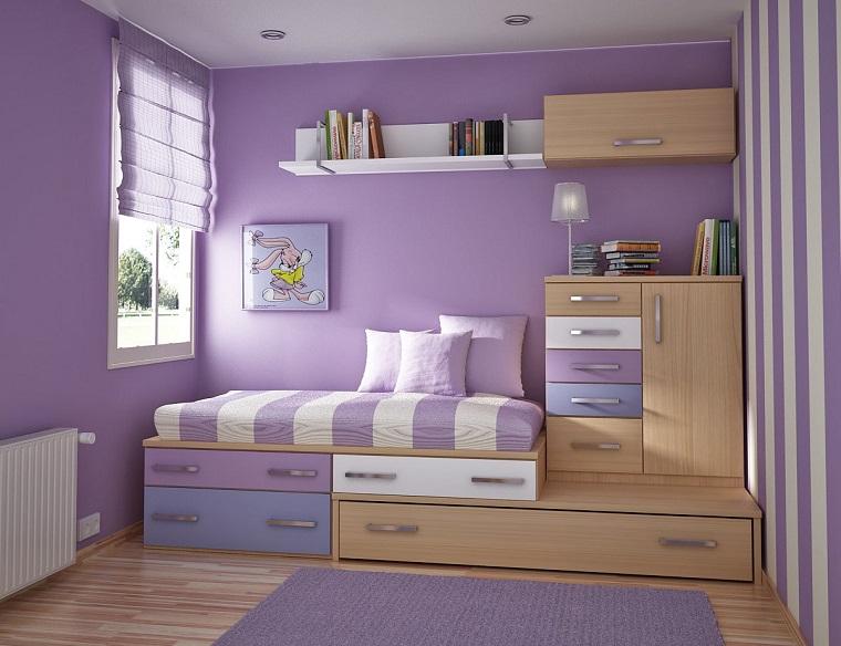Pittura camerette bambini i colori e le fantasie per lo spazio dei pi piccoli - Colori pareti camerette bambini ...