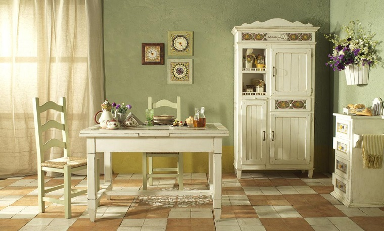 Pittura pareti cucina: tante idee colorate e all\'ultima moda ...