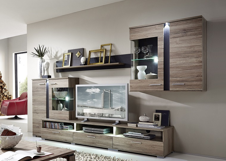 colori-pareti-soggiorno-grigio-mobilio-legno