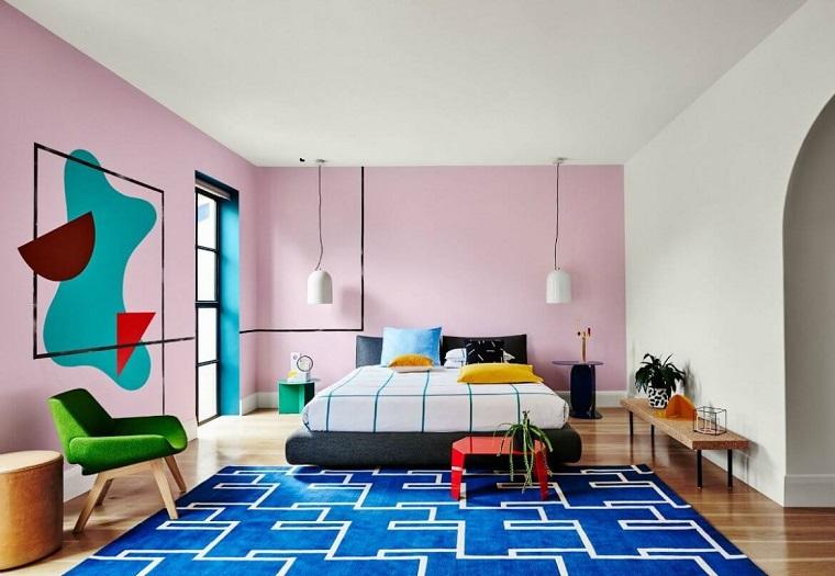 colori-pareti-viola-chiaro-camera