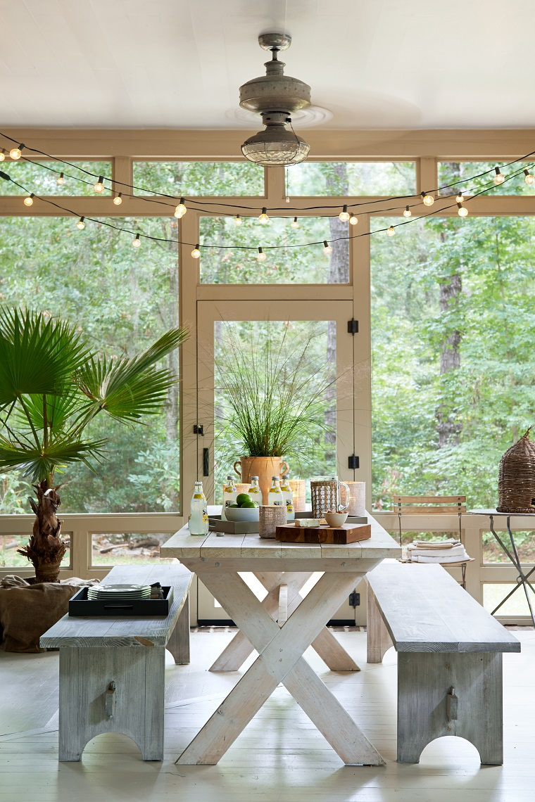 La Veranda Di Campagna arredare veranda: 10 suggerimenti per abbellire e