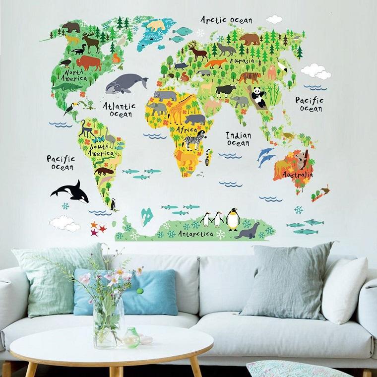come-pitturare-una-cameretta-cartina-geografica