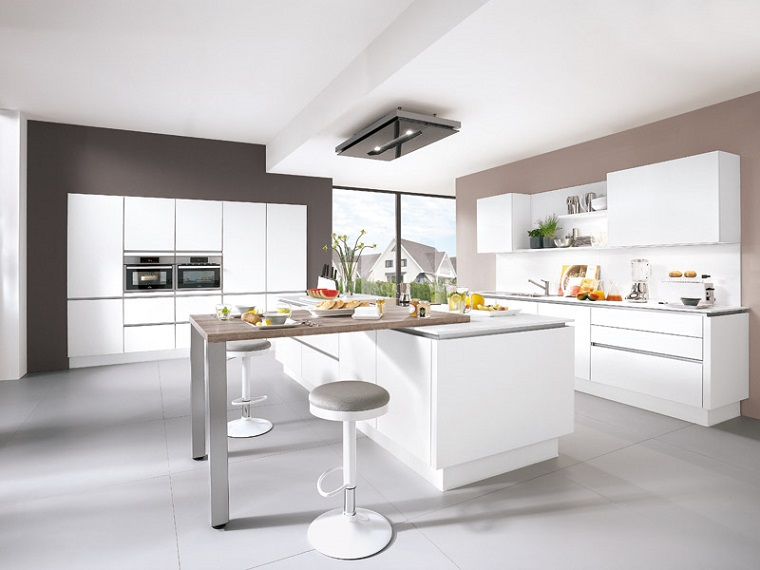 Cucina bianca 10 idee di arredamento moderno per ogni - Cucina arredamento moderno ...