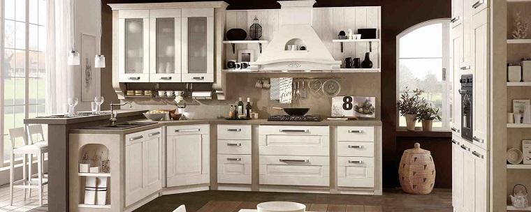 Cucine classiche bianche una soluzione chic evergreen - Cucina classica bianca ...