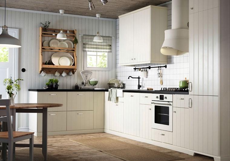 cucina country-arredamento-mobili-colore-bianco