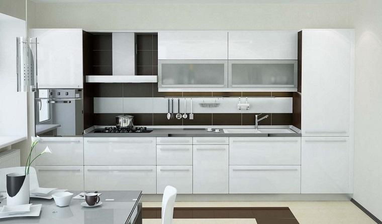 Cucina Bianca Lucida Moderna ~ la scelta giusta è variata sul design ...