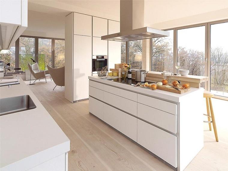 cucina open space-design-moderno