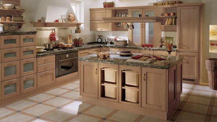 cucina stile country-arredamento-design-legno