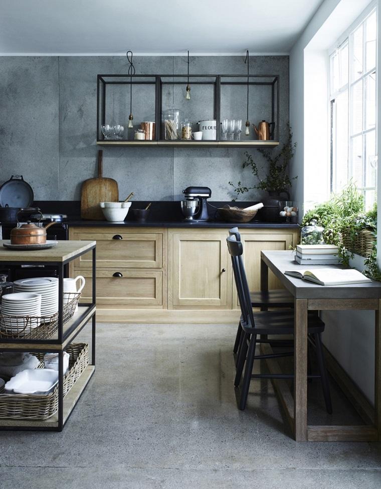 cucina stile country-mobili-legno-idea-design