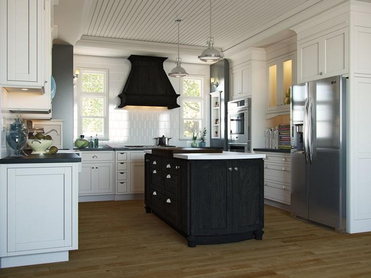Cucine stile inglese atmosfere calde tanto legno e cura dei dettagli - Coordinati cucina country ...