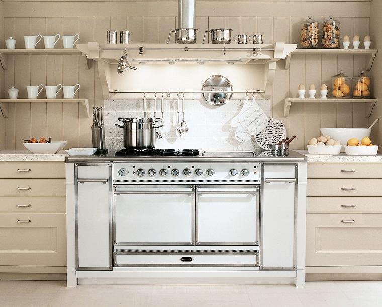 Cucine stile inglese atmosfere calde tanto legno e cura dei dettagli - Cucine minacciolo english mood ...