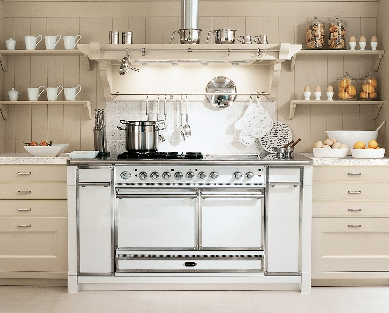 Cucine stile inglese atmosfere calde tanto legno e cura - Coordinati cucina country ...