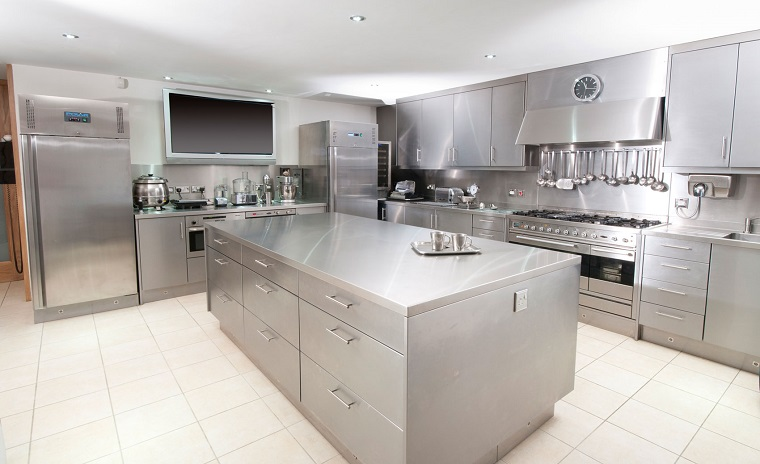 Cucine acciaio inox: look professionale e design ultra ...