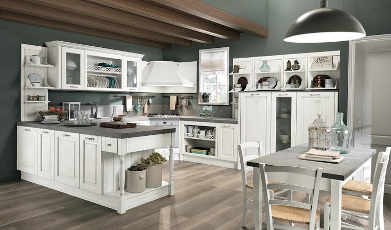 Cucine bianche classiche una scelta di stile sempre al - Cucine classiche bianche ...