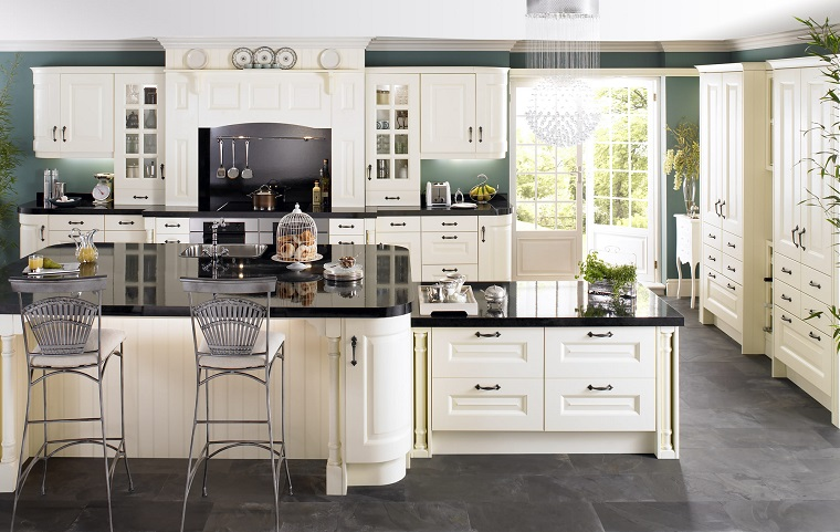 Stunning Cucine Bianche Classiche Images - Amazing House Design ...