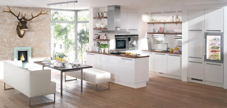 cucine-moderne-bianche-accenti-design-rustico