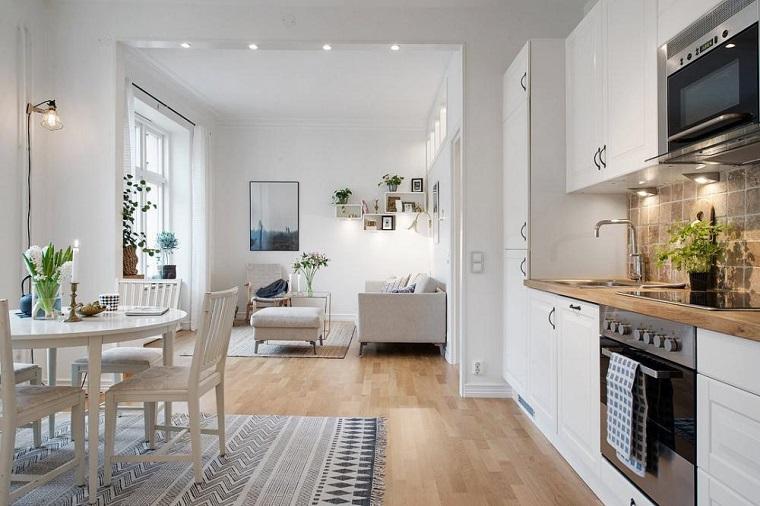 Cucina open space ecco come fondere due ambienti in un for Open space in stile ranch