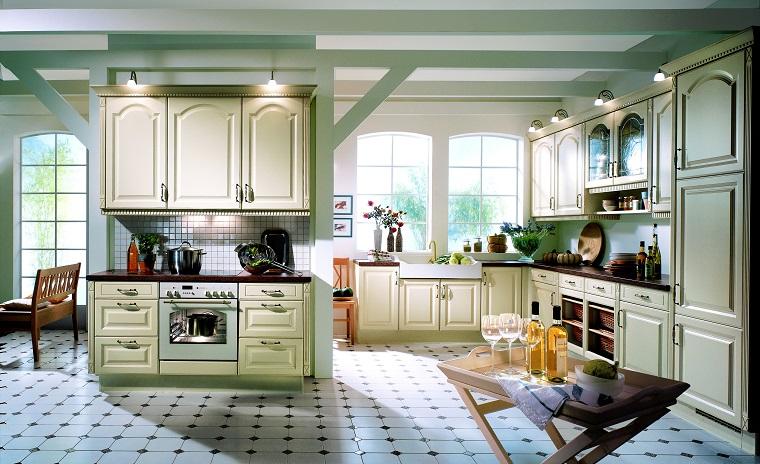 cucine provenzali-arredamento-color-crema