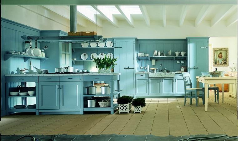cucine provenzali-arredamento-design-colore-azzurro
