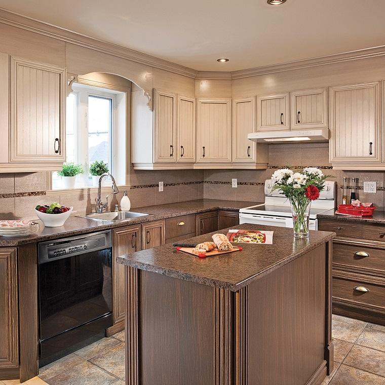 cucine-stile-country-mobili-legno-colore-scuro