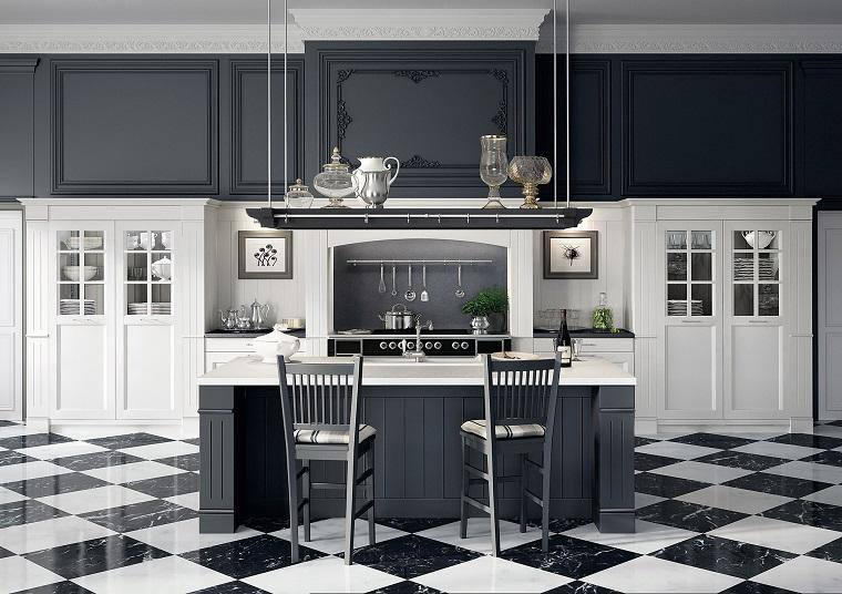 Cucine stile inglese atmosfere calde tanto legno e cura for Arredamento stile inglese bianco