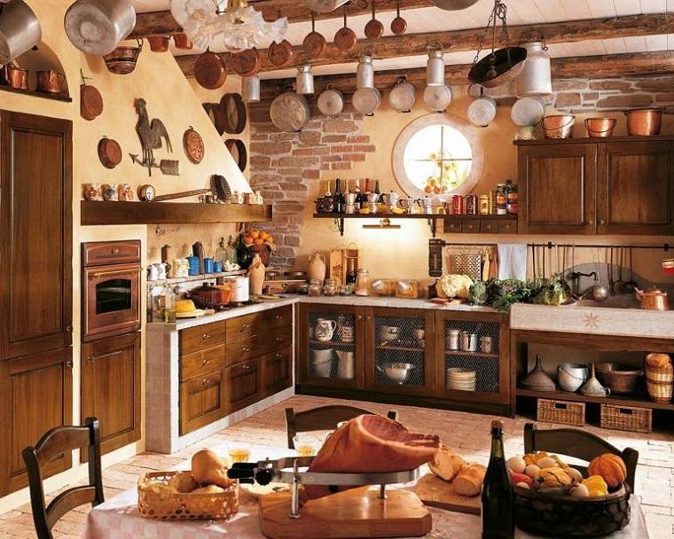 Cucine stile rustico il sapore dei tempi antichi in casa vostra - Cucine in stile rustico ...