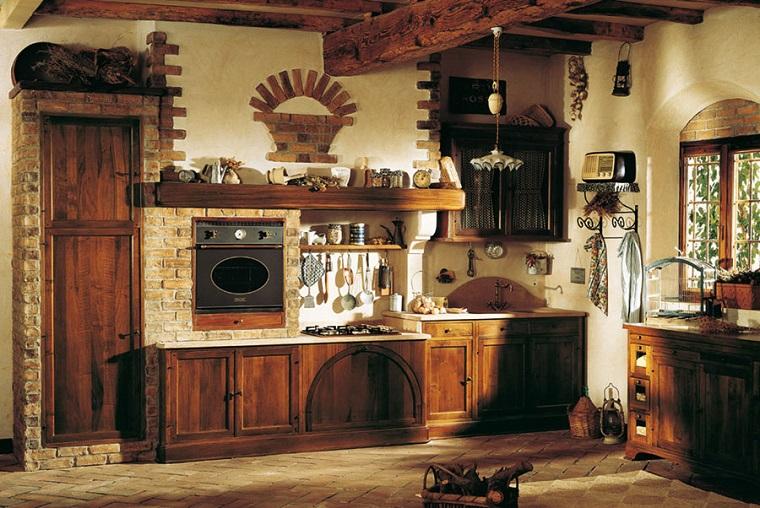 cucine stile rustico-elettrodomestici-design-tradizionale
